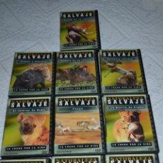 Cine: NATURALEZA SALVAJE 10 DVDS OCEANO MULTIMEDIA. Lote 44819536
