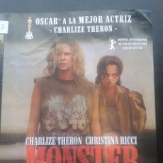Cinema: DVD - MONSTER *+ CHARLIZE THERON, CHRISTINA RICCI, BRUCE DERN, LEE TERGESEN**DESCATALOGADA***. Lote 44852132