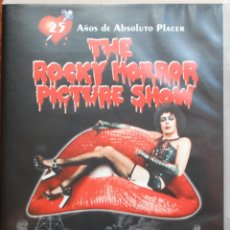 Cine: THE ROCKY HORROR PICTURE SHOW (JIM SHARMAN, 1975, T. CURRY, S. SARANDON) (2 DVDS + FOLLETO) (FOTOS). Lote 44911365