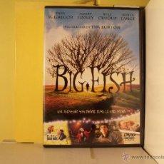 Cine: BIF FISH - TIM BURTON - DVD. Lote 44928373