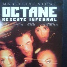 Cine: DVD - OCTANE RESCATE INFERNAL **MADELEINE STOWE, JONATHAN RHYS-MEYERS, MISCHA BARTON**DESCATALOGADA. Lote 44930671