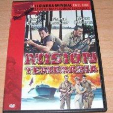 Cine: DVD MISION TEMERARIA - SEGUNDA GUERRA MUNDIAL. Lote 44932320