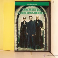 Cine: MATRIX RELOADED - DVD EDICION 1 SOLO DISCO. Lote 51270879