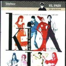Cine: DVD KIKA - PEDRO ALMODOVAR. Lote 45024568