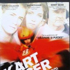 Cine: DVD - KART RACER (COCHES DE FUEGO) ** DE STUART GILLARD**DAVID GALLAGHER, RANDY QUAID**DESCATALOGADA. Lote 194360166
