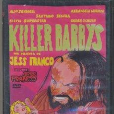 Cine: KILLER BARBYS DVD: UN FILM ICONOCLASTA DE JESS FRANCO CON SANTIAGO SEGURA. PRECINTADO. Lote 178396633