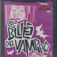 Cine: LOS BLUES DEL VAMPIRO DVD: FILM ESENCIAL DE JESS FRANCO CON SUS ACTORES FETICHE. PRECINTADO. Lote 45042242