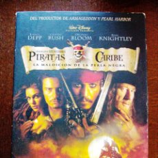 Cine: DVD PIRATAS DEL CARIBE CON JONNHY DEEP Y ORLANDO BLOOM. Lote 45158932