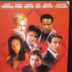 Cine: DVD - SHADE, JUEGO DE ASESINOS ** STUART TOWNSEND, GABRIEL BYRNE, SYLVESTER STALLONE, JAMIE FOX****. Lote 45181138