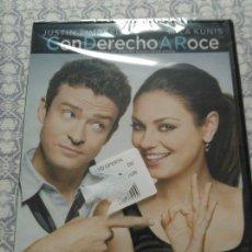 Cine: DVD CON DERECHO A ROCE (2011) - MILA KUNIS - JUSTIN TIMBERLAKE - PATRICIA CLARKSON. Lote 45222878