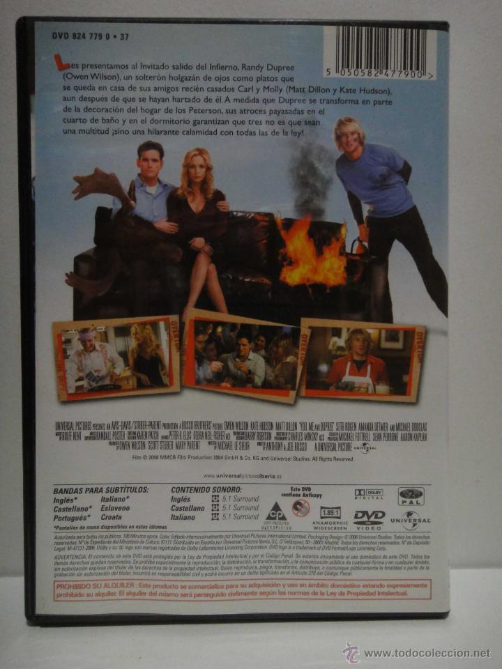 Cine: TU YO AHORA DUPREE PELICULA DVD BUEN ESTADO - Foto 2 - 45230346