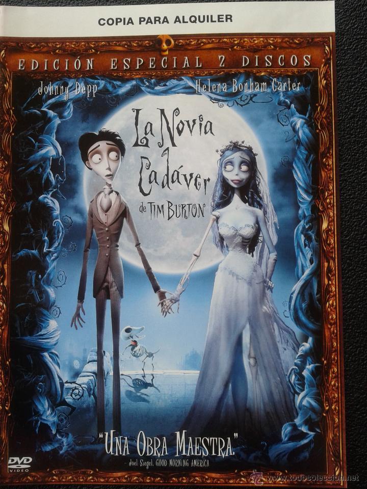 DVD - LA NOVIA CADÁVER (ED. ESPECIAL- 2 DVDS.)**DE TIM BURTON*** EDICION DESCATALOGADA**** (Cine - Películas - DVD)