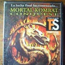 Cine: MORTAL KOMBAT CONQUEST. LA LUCHA FINAL HA COMENZADO...DVD. PRECINTADA.. Lote 45265827