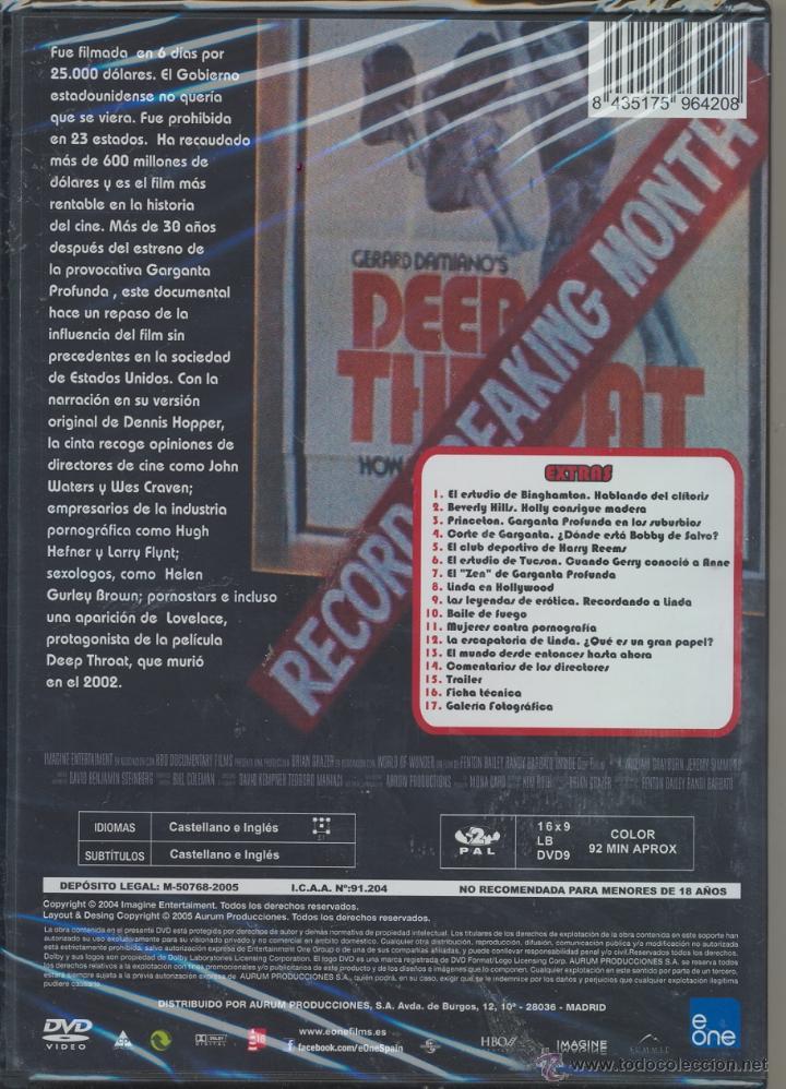 inside deep throat (garganta profunda) un film - Comprar Películas ...