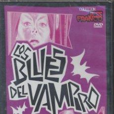 Cine: LOS BLUES DEL VAMPIRO DVD: DE JESS FRANCO, MUY DESCATALOGADA Y MUY BUSCADA. PRECINTADO. Lote 45358218