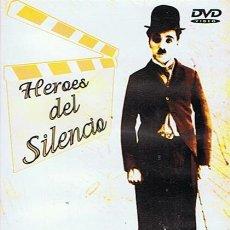 Cine: DVD HEROES DEL SILENCIO CHARLES CHAPLIN ,BILLY BEVAN,FATTY ALEXANDER . Lote 45421323