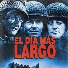 Cine: DVD EL DÍA MÁS LARGO JOHN WAYNE / HENRY FONDA . Lote 45425543