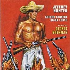 Cine: DVD JOAQUÍN MURRIETA JEFFREY HUNTER. Lote 45442795