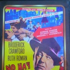 Cine: NO HAY CRIMEN IMPUNE- BRODERICK CRAWFORD-RUTH ROMAN. -UN CLÁSICO DE CINE NEGRO AMERICANO. Lote 45445170
