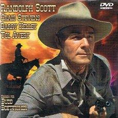 Cine: DVD BUCHANAN CABALGA DE NUEVO RANDOLPH SCOTT . Lote 45466353