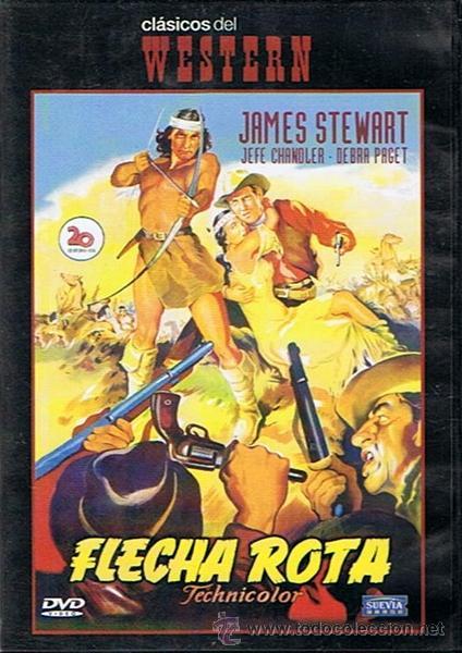 DVD FLECHA ROTA JAMES STEWART (Cine - Películas - DVD)