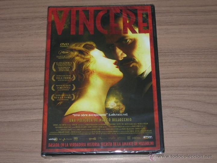 VINCERE DVD LA HISTORIA SECRETA DE LA AMANTE DE MUSSOLINI NUEVA PRECINTADA (Cine - Películas - DVD)
