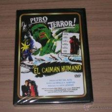 Cine: EL CAIMAN HUMANO DVD T ERROR NUEVA PRECINTADA. Lote 213691937