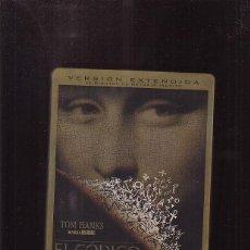 Cine: DVD - EL CODIGO DAVINCI / TOM HANKS - VERSION EXTENDIDA, DOS DVD - CAJA METAL. Lote 45545140