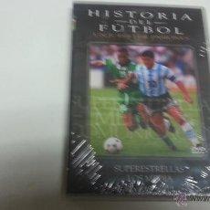 Cine: HISTORIA DEL FUTBOL-UN JUEGO DE PASIONES-SUPERESTRELLAS-LOS MEDIA-DVD-2152 . Lote 45580685