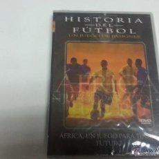 Cine: HISTORIA DEL FUTBOL-UN JUEGO DE PASIONES-AFRICA , UN JUEGO PARA TODOS-FUTURO-DVD-2152 . Lote 45580714