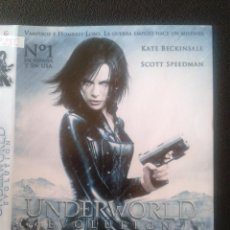 Cine: DVD - UNDERWORLD EVOLUTION **DE LEN WISEMAN CON KATE BECKINSALE, SCOTT SPEEDMAN, TONY CURRAN**. Lote 45581605