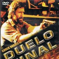 Cine: DVD DUELO FINAL CHUCK NORRIS . Lote 45609696