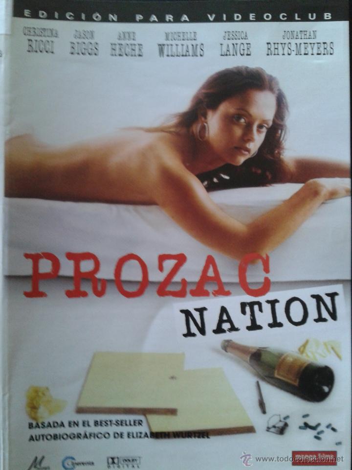 DVD - PROZAC NATION ** CHRISTINA RICCI, JASON BIGGS, ANNE HECHE *** DESCATALOGADA *** (Cine - Películas - DVD)