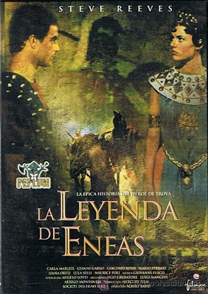 DVD LA LEYENDA DE ENEAS STEVE REEVES (Cine - Películas - DVD)