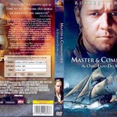 Cine: DVD: MASTER & COMMANDER - RUSSELL CROWE. Lote 45683423