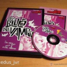 Cine: LOS BLUES DEL VAMPIRO COLECCIÓN JESS JESÚS FRANCO PELÍCULA EN DVD TERROR BUEN ESTADO. Lote 45687824