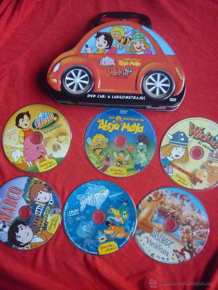 pack de 6 dvd peliculas -heidi,marco,vicky,abe - Comprar Películas ...