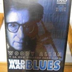 Cine: DVD - WOODY ALLEN Y LA NEW ORLEANS JAZZ-BAND - WILD MAN BLUES - PRECINTADO - 2000. Lote 45751076