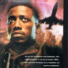 Cine: DVD PASAJERO 57 WESLEY SNIPES ( FORMATO SNAPCASE). Lote 45789555
