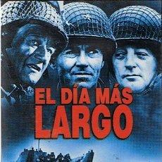 Cine: DVD EL DÍA MÁS LARGO JOHN WAYNE / HENRY FONDA . Lote 45883839
