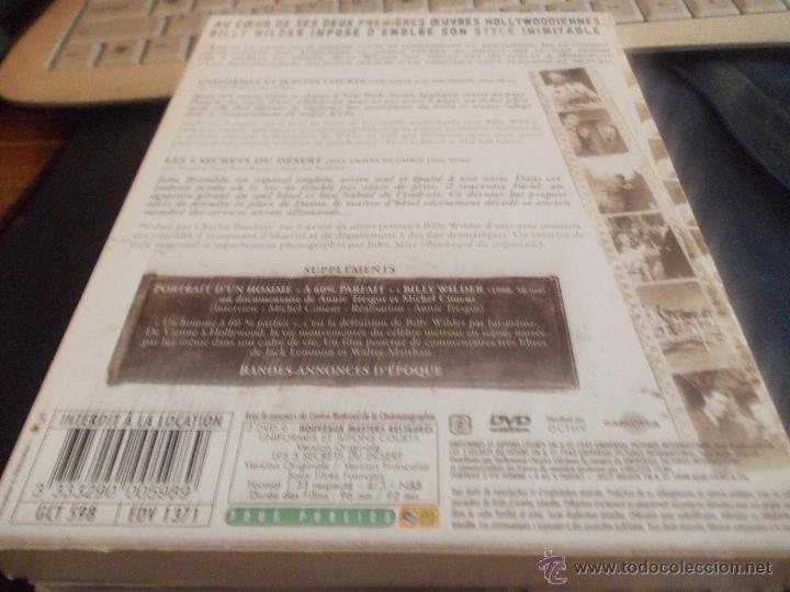 Cine: el mayor y la menor y 5 tumbas al cairo. disco edicion francesa. vosf y doblaje frances. - Foto 2 - 45872695