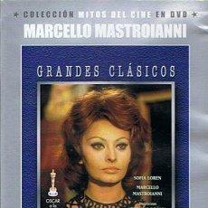 Cine: DVD MATRIMONIO A LA ITALIANA SOFÍA LOREN / MARCELLO MASTROIANNI. Lote 45934315
