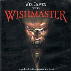 Cine: DVD WISHMASTER WES CRAVEN . Lote 45934600