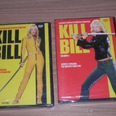 Cine: KILL BILL VOLUMEN 1 Y 2 DVD QUENTIN TARANTINO NUEVAS PRECINTADAS. Lote 243944920