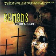 Cine: DVD DEMONS DARIO ARGENTO . Lote 45960428