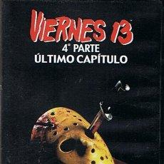 Cine: DVD VIERNES 13 . Lote 45963810