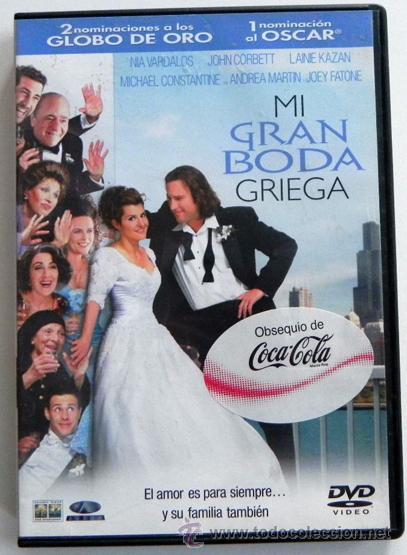 Mi Gran Boda Griega Dvd Película Comedia Romá Comprar Películas