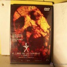 Cine: EL LIBRO DE LAS SOMBRAS - DVD. Lote 46105211