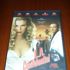 Cine: L.A. CONFIDENTIAL (DVD) - RUSSELL CROWE - KEVIN SPACEY - KIM BASINGER. Lote 46232357