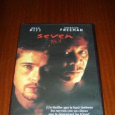 Cine: SEVEN (FINCHER) (DVD) - BRAD PITT - MORGAN FREEMAN - GWYNETH PALTROW. Lote 46232378